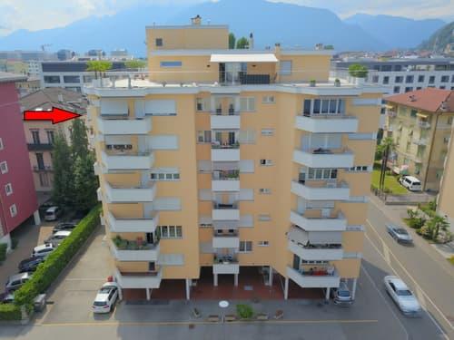 Zentrale 6.5 - Zimmerwohnung / Appartamento di 6.5 locali in zona centrale