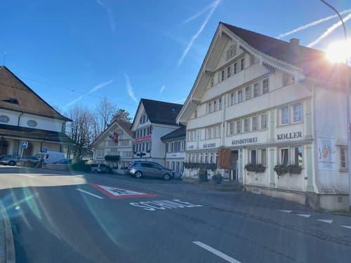 Charmante 2 1/2 Zi. - Altbauwohnung mitten im Zentrum von Teufen (1)