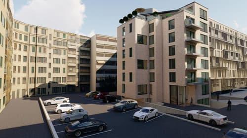 Résidence la Briquette : 13 appartements sur plan au coeur de Genève
