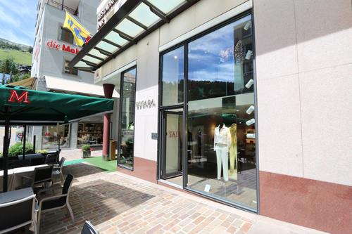 132 m2 Verkaufsräume an bester Lage in St. Moritz