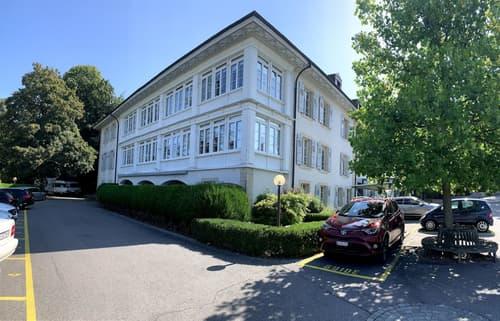 Dans un magnifique parc, bel immeuble de caractère, 2'188 m2 à louer à Lausanne