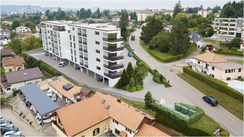 A vendre magnifique appartement de 3,5 pces sur la Commune de Marly