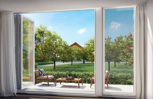 Magnifique 1,5 pièces avec jardin privatif à 300 m du cœur de Payerne