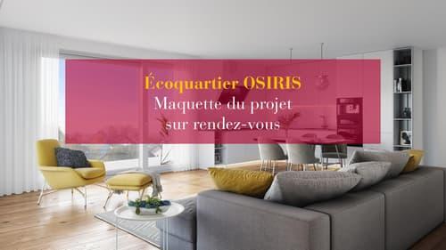 Nouvel Ecoquartier - appartement de 3,5 pièces au 1er étage