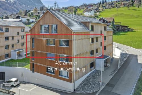 Moderne, und ruhige 4½ Zimmer Eigentumswohnung in Grabs (SG)