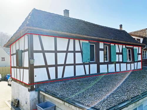 Der historische Baslerhof mit Ihrer zukünfigen Wohnung