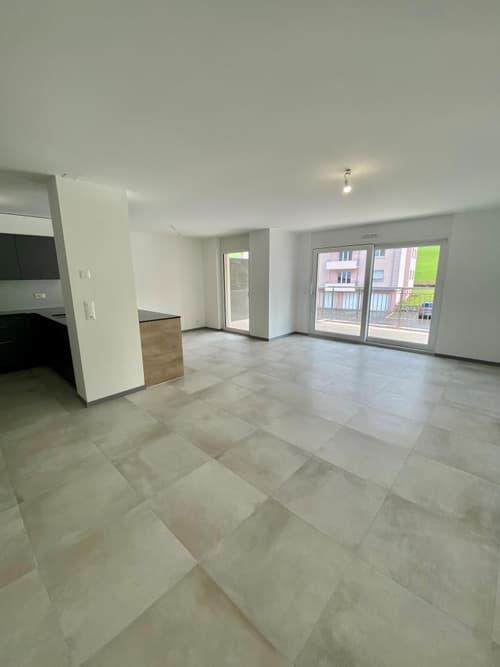 Appartement neuf de 5,5 pièces avec grand balcon orienté sud