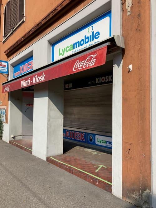 Kiosk direkt an der Zürcherstrasse (1)