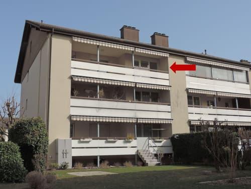 Sonnige Eigentumswohnung im obersten Stockwerk
