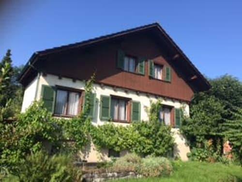 Schöne Altliegenschaft, grosser Garten, ruhige sehr sonnige Lage Nähe Bahnhof (1)
