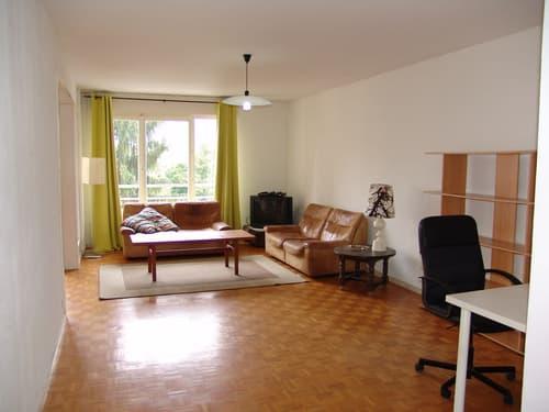 Appartement meublé au centre de St Genis Pouilly. Proche toutes commod