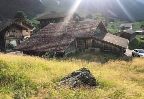 Haus in Guttannen bernerner Oberland