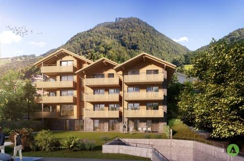 Tolle 3½-Zimmer-Dachwohnung - Neubauprojekt Mon Abri