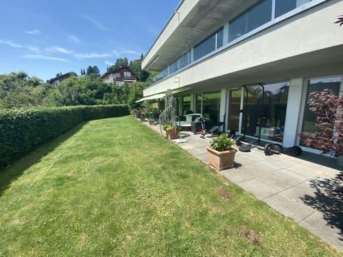 Sehr ruhig gelegene und gut besonnte Terrassen-Gartenwohnung
