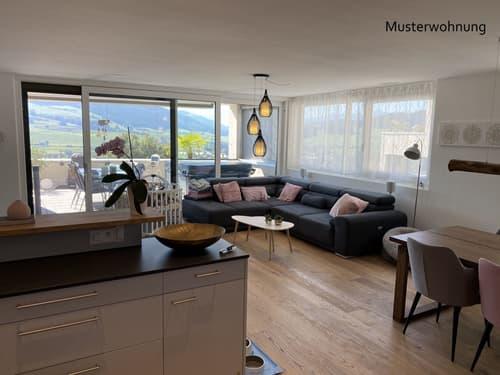 """4 1/2-Zimmer Terrassenhaus  """"Doldenhorn Ebene 1 west"""""""
