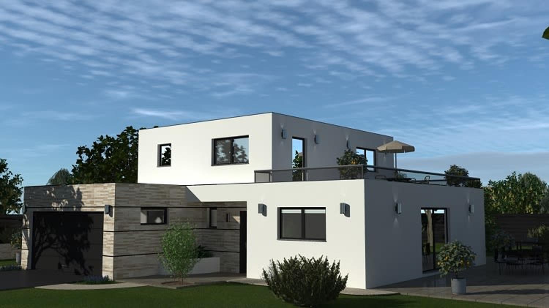 Kaufen Modernes Haus Flachdach F6 In Leymen