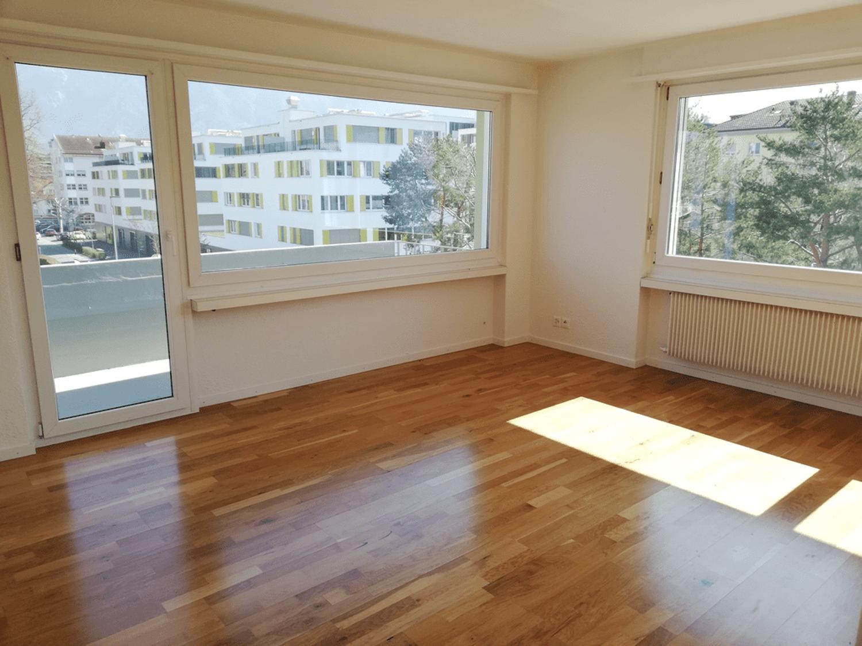 Miete: Helle und gemütliche Wohnung im Zentrum von Buchs