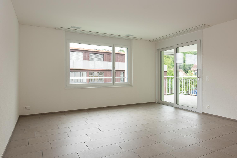 Miete: Grosszügige Wohnung im Grünen