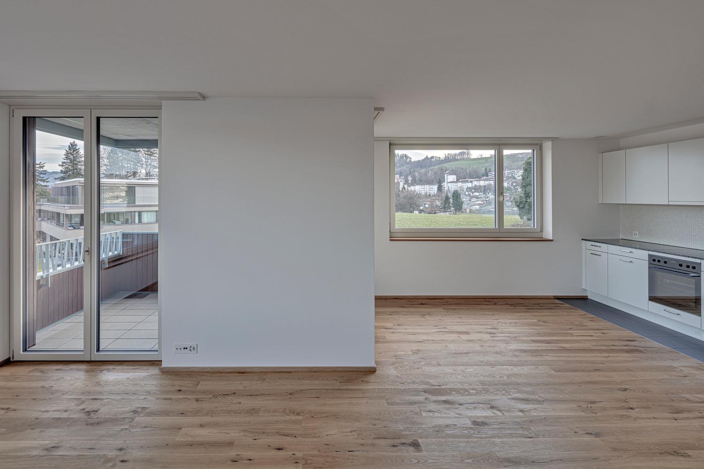 Erstvermietung: Wohnung mit See- und Bergsicht