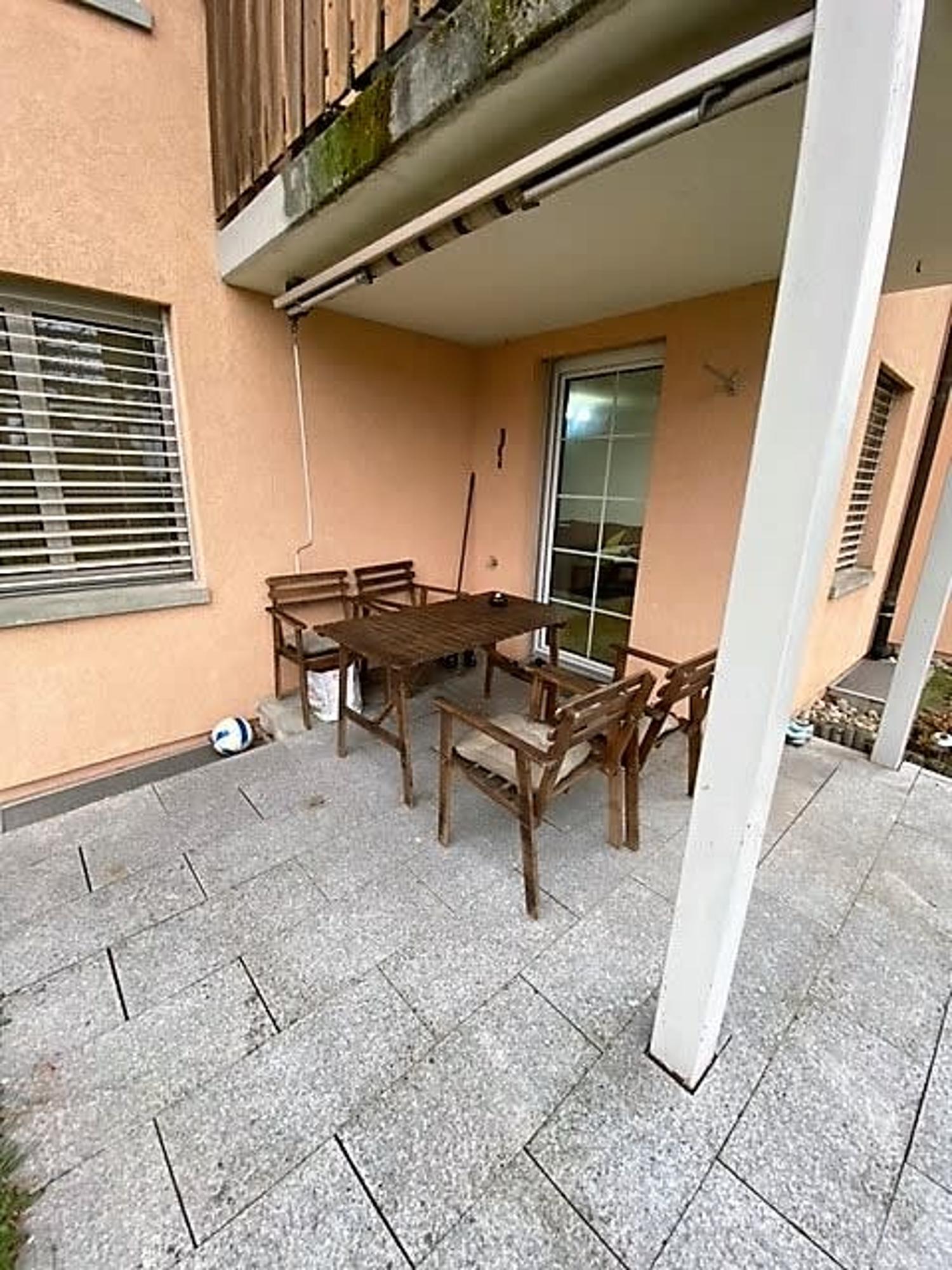 Gemütliche Wohnung mit sonnigem Sitzplatz