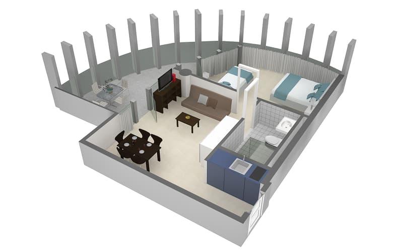 Komfortable und moderne 2.5 Zimmerwohnungen mit Terrasse (2)