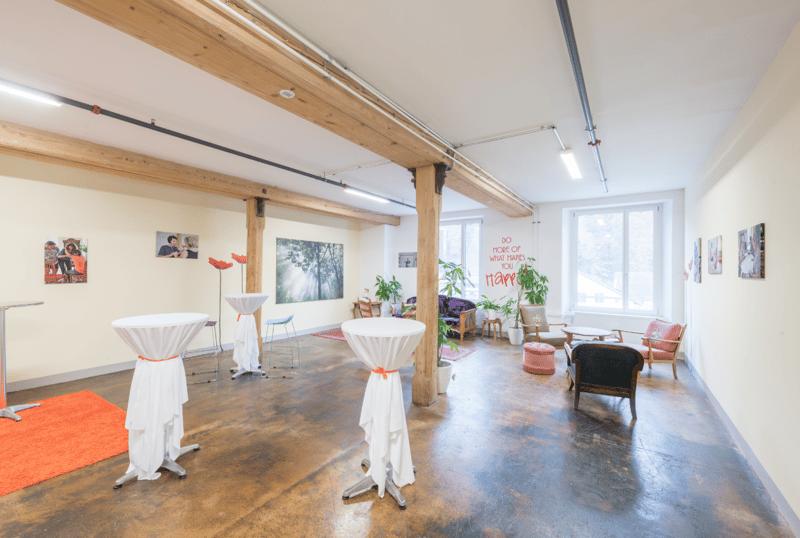 Schöne Bürofläche in der Spinnerei Aathal zu vermieten