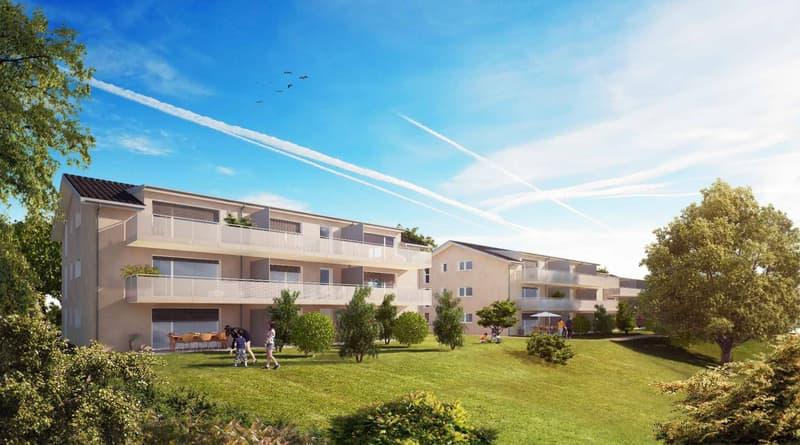 Appartements neufs de 4.5 pièces avec extérieur