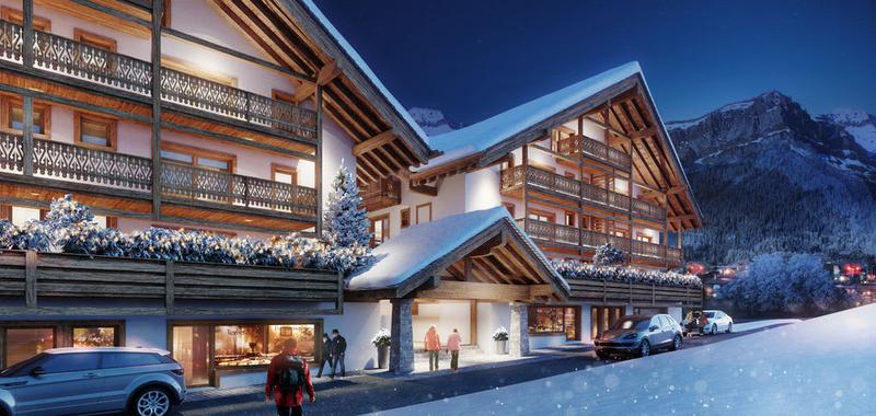A VENDRE APPARTEMENT 2.5 PIECES NEUF A CHAMPERY