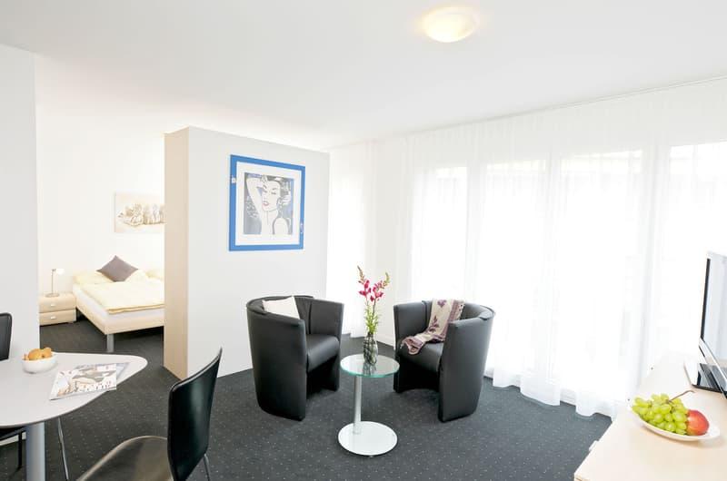 Moderne und möblierte 2-Zimmerwohnungen im Zentrum von Cham
