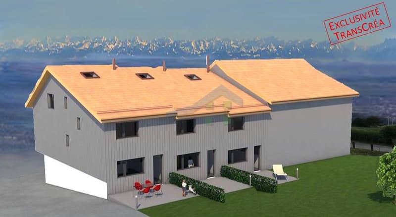 Villa contiguë PPE à Bullet  A vendre sur plan