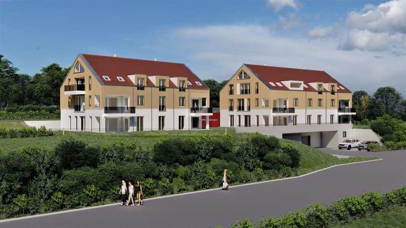"""Wohnüberbauung """"Trubeweg"""" Dietschwil (1)"""