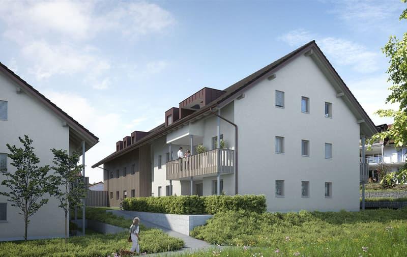 Schöne Dachwohnung mit Balkon und Estrich (2)