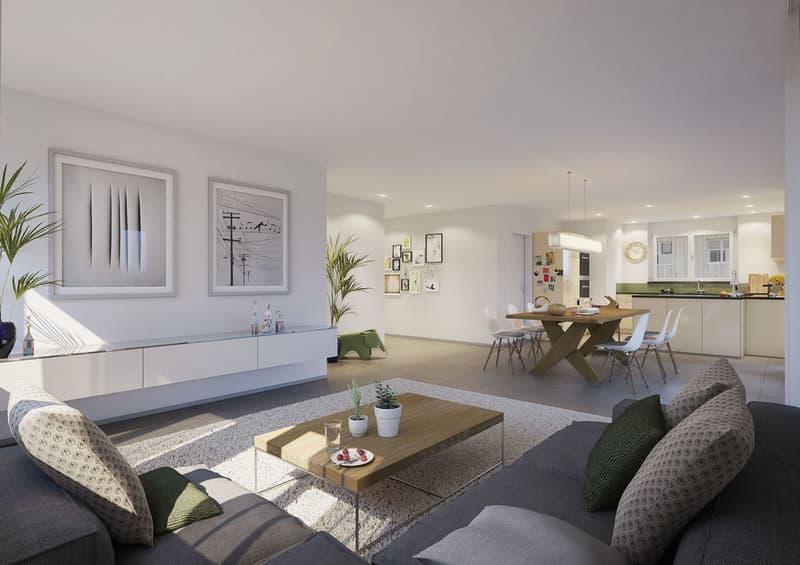 Moderne und grosszügige 4.5 - Zimmer Eigentumswohnung (2)