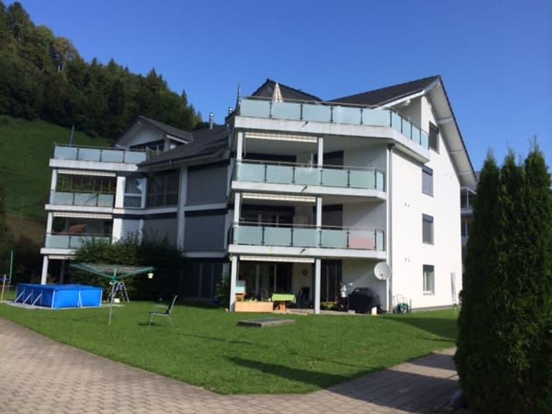 3 1/2 - Zimmerdachwohnung im 3.OG auf 96m2 mit grosser Terrasse
