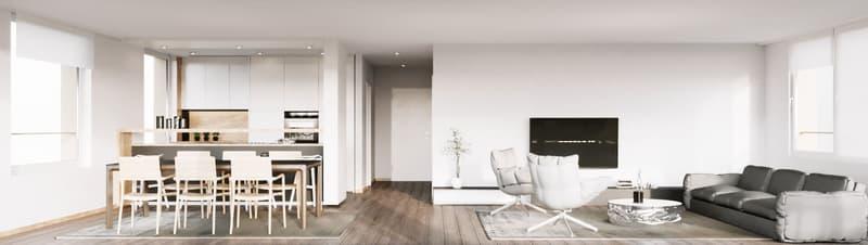 Urbanes, gehobenes Wohnen auf eigener Etage mit Wintergarten und Balkon