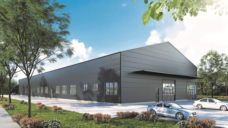 Neubauprojekt Produktions- und Lagerhalle