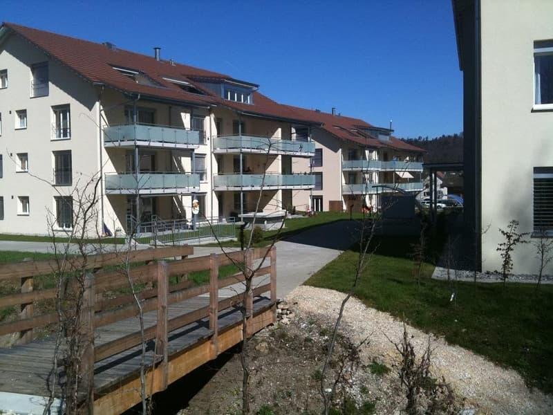 moderne 3 1/2-Zimmer-Dachwohnung