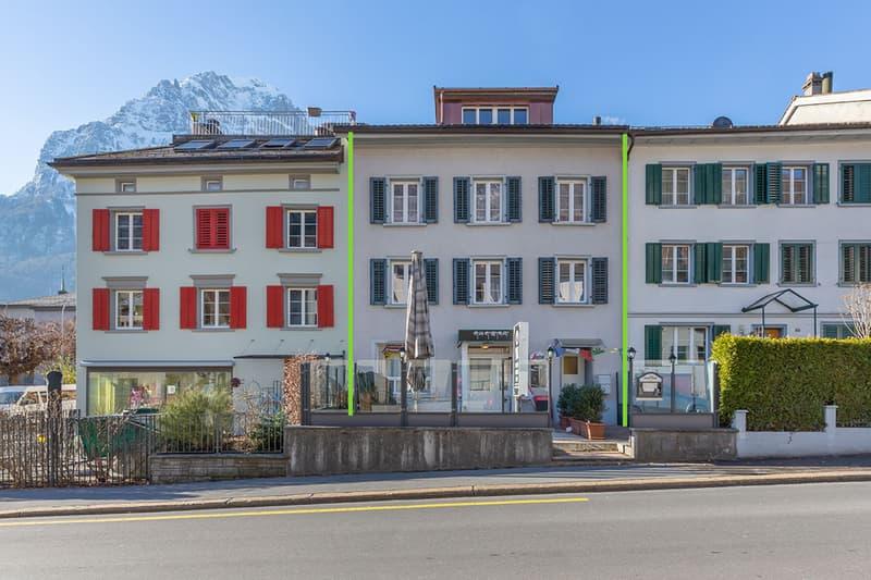 Renditeliegenschaft im Stadtzentrum von Glarus