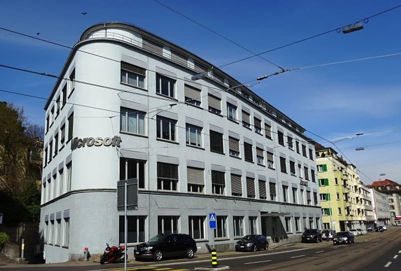Zentrale Büroräume in Zürich-Wollishofen