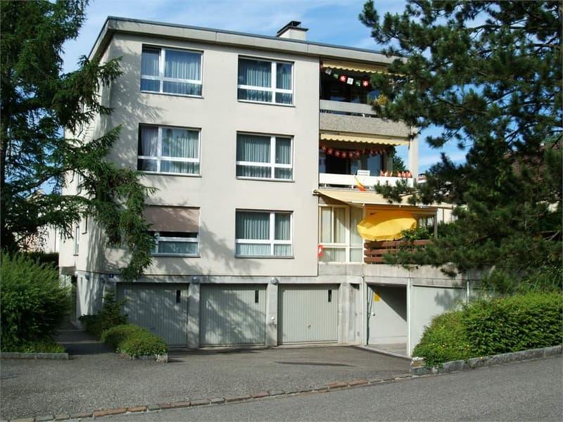 4.5-Zimmerwohnung mit Balkon und Garage, renoviert, 1. Miete gratis