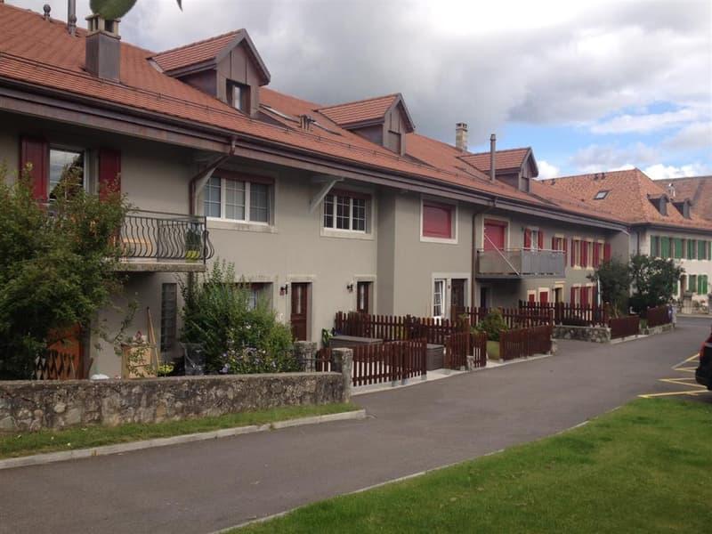 Appartement de 5.5 pièces en duplex avec beaucoup de cachet et avec un jardin privatif attenant.