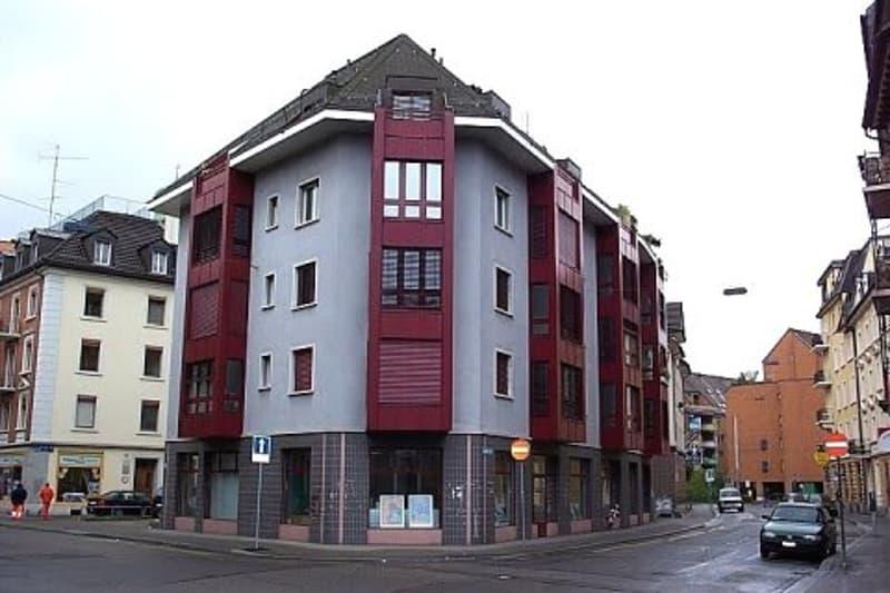 Garagenparkplatz im Kern von Zürich