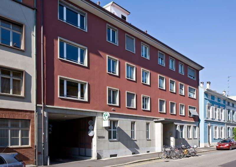 Einstellplatz nähe Zentrum von Basel
