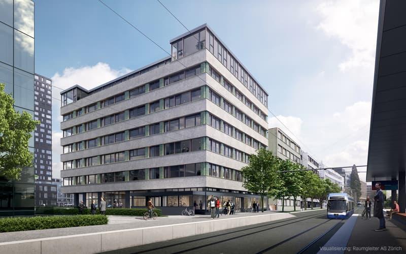 487 m2 Laden- und Gewerbefläche für individuelle Gestaltung