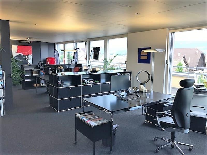 Attika-Büro mit grosser Terrasse