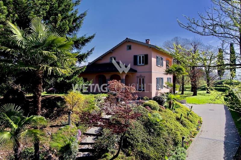 Einfamilienhaus mitten im Grünen in Gentilino in der Nähe von Lugano