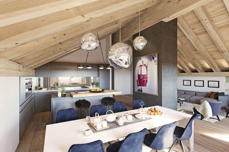 Dernier projet immobilier neuf en Valais / Last new real estate project in Valais