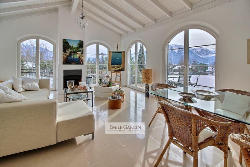 Maison de charme au calme, vue sur le lac. Montreux. (1)