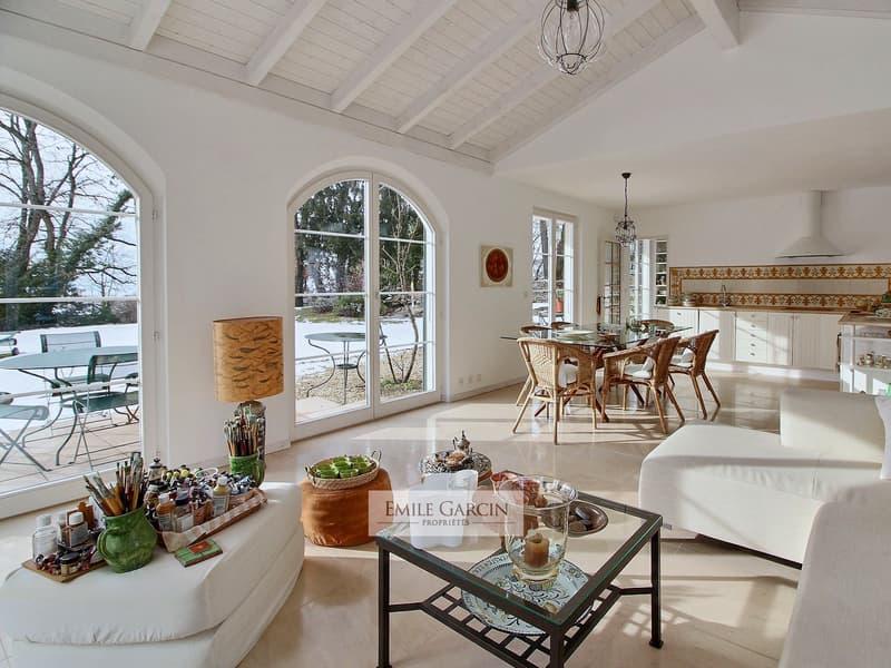 Maison de charme au calme, vue sur le lac. Montreux. (3)