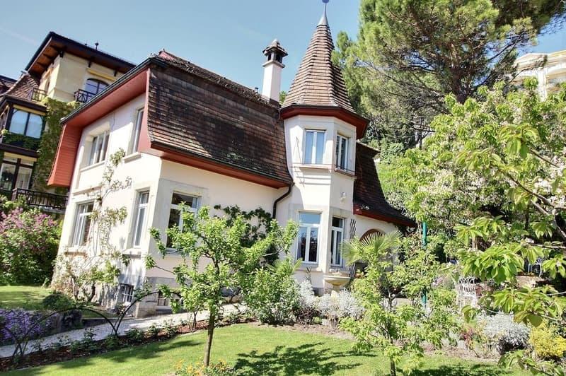 Ravissante propriété avec vue lac au coeur de Montreux